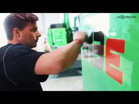 Производственный цикл техники SENNEBOGEN — от листовой стали до готовой машины!