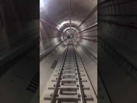 Penampakan Jalur Bawah Tanah Kereta Mrt Jakarta Youtube