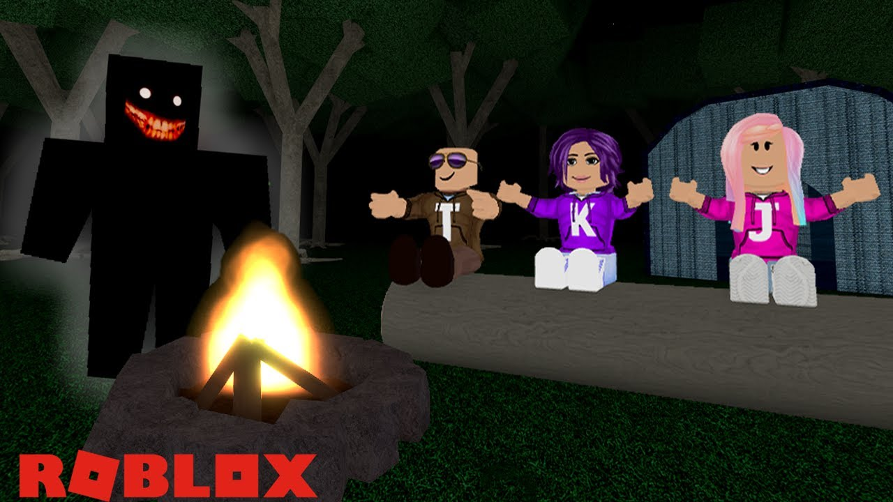 Scariest Camping Trip Ever Roblox Camping Youtube