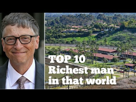 The top ten richest people in the world 2017-latest updated