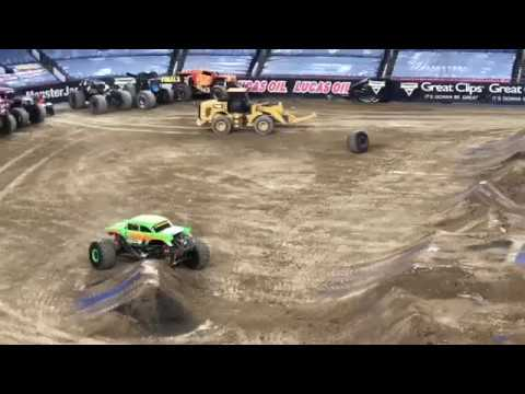 Monster jam freestyle Denver mile high stadium 2019 part 1