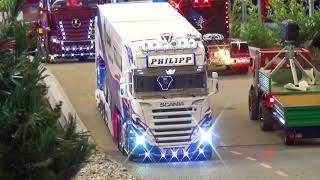 Amazing RC Scania Scale Racing Team Truck Friedrichshafen 2018