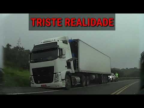 Perigosa Serra do Cem na BR-116 em Nova Itarana-BA
