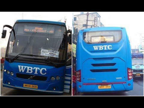 Kolkata To Digha VOLVO AC Bus Full Journey Coverage