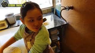 리리파파 미녀모델 김리아의 화덕피자 만들기 체험