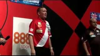 Glen Durrant winning the 2015 BDO Winmau World Masters
