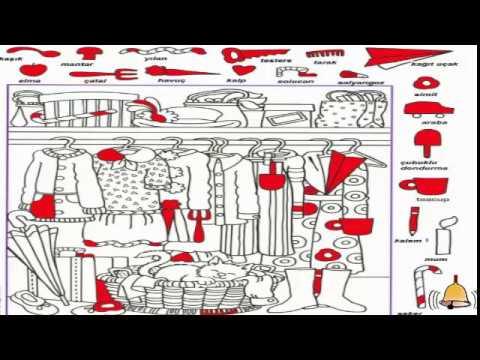Resimde Kayıp Nesneyi Bulma Etkinliği Kayıp Eşyayı Bul 3 Youtube