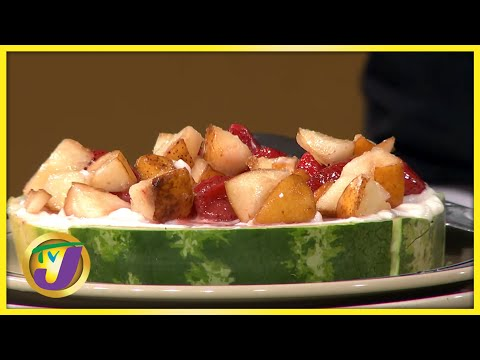 Watermelon Pizza A Fruity Treat that's Perfect for the Summer | TVJ Smile Jamaica