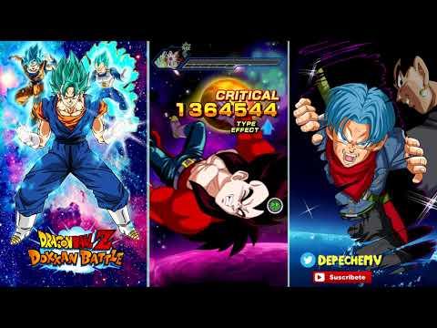 Fusion Team Vs. Boss Rush Stage 5 | DBZ Dokkan Battle En Español