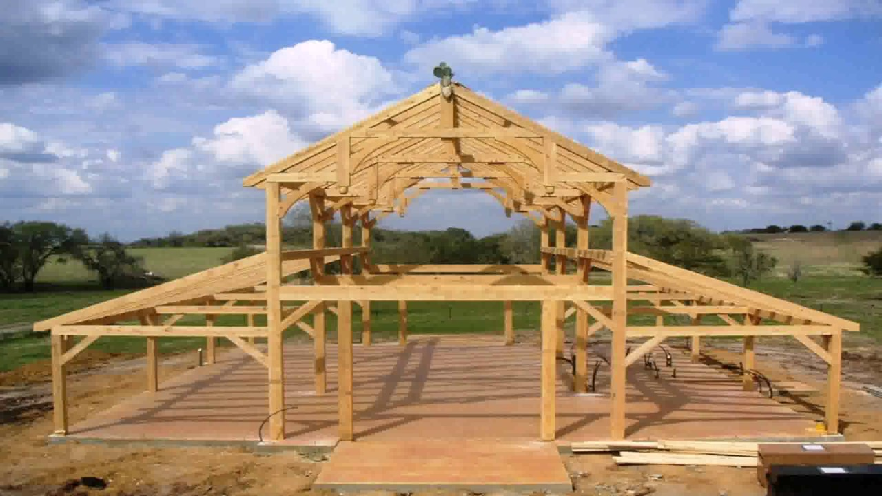 American barn style house plans youtube for American barn house floor plans