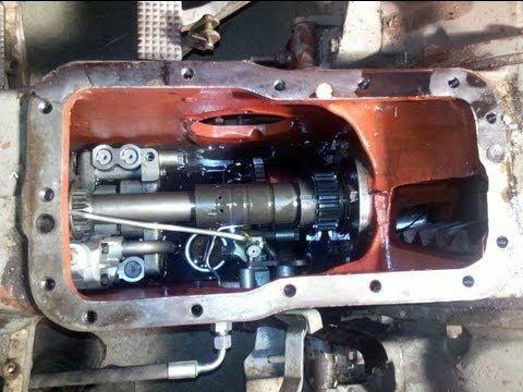 MF 165 Multi Power -  breaking in the new hydraulic pump - part 10
