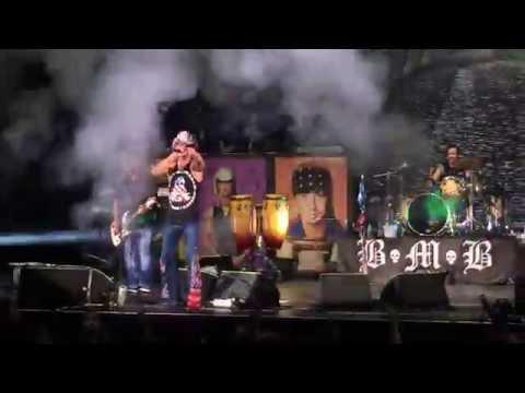 "Bret Michaels - ""Unskinny Bop"" Hair Nation Festival at Irvine Meadows 9/17/2016"