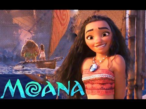Moana - Maui & Moana (funny moments) /HD