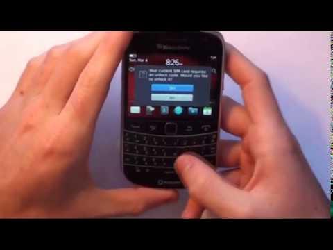 How to Unlock BlackBerry 9720