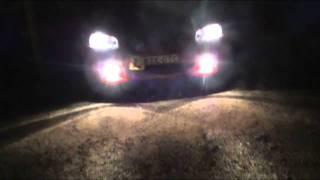 Testing Phillips Blue Vision Lights 4000K Holden Commodore