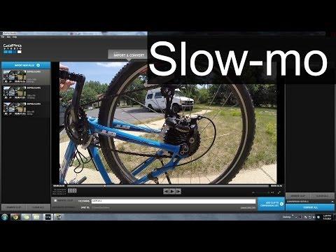 GoPro Tutorial: How To Slow Motion in GoPro Studio 2.0 - Jeremy Sciarappa