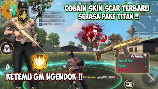 BAR BAR DI RANK MASTER PAKE SET LETDA HYPER + SKIN SCAR TERBARU !! FREEFIRE BATTLEGROUND