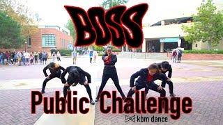 [KPOP IN PUBLIC CHALLENGE] KBM Dance | NCT U 엔시티 유 'BOSS' Public Challenge