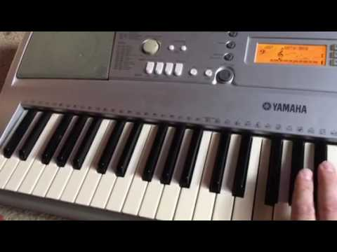 yamaha ypt 300 youtube rh youtube com Yamaha YPT-300 Keyboard Chord in and Out Yamaha YPT-300 Keyboard Ports