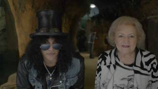 Slash & Betty White Commercial for the LAIR at L.A. Zoo Opens Mar. 8 (Sonoran toads)