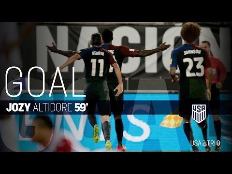 MNT vs. Trinidad & Tobago: Jozy Altidore First Goal - Sept. 6, 2016
