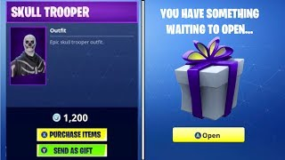 HOW To GIFT SKINS In Fortnite Season 5! | Fortnite Gifting System Fully Explained + Release Date?!