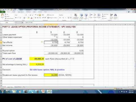 Lease-Buy Analysis Ex2 - Pat Obi
