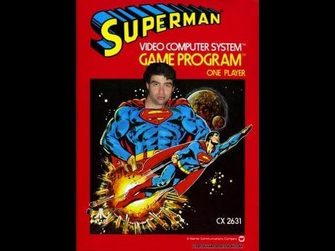 lets play superman on the atari 2600