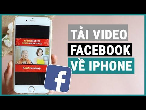 Mẹo download video facebook về điện thoại iphone đơn giản   Ghiền smartphone