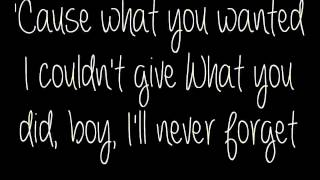 Wasting All These Tears HD lyrics