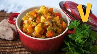 Curried Vegetables | The Vegan Corner