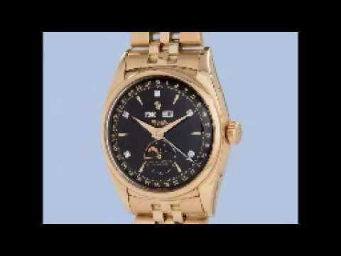 The Most Expensive And Rarest Watch # Bao Dai Rolex  Watch