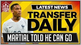 MOURINHO Approves Anthony MARTIAL Transfer! Man Utd Transfer News