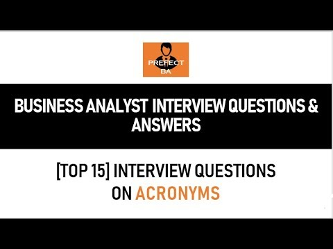 business analyst interview questions and answers youtube