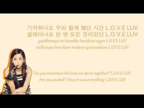 Luv - Apink Colour Coded Lyrics (HAN/ROM/ENG)