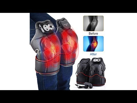 HailiCare Heat Therapy, Knee Physiotherapy Massager, Heated and Vibration Massage Knee and Joint Pai