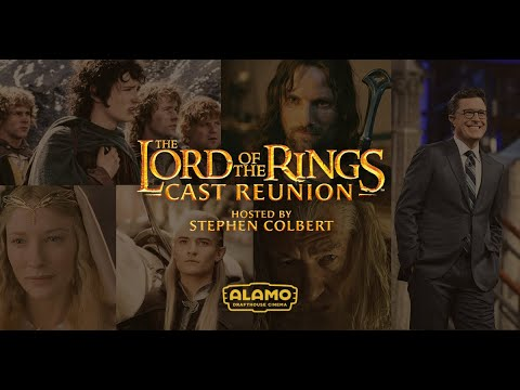 THE LORD OF THE RINGS Cast Reunion | Only in Theaters | Hosted by Stephen Colbert