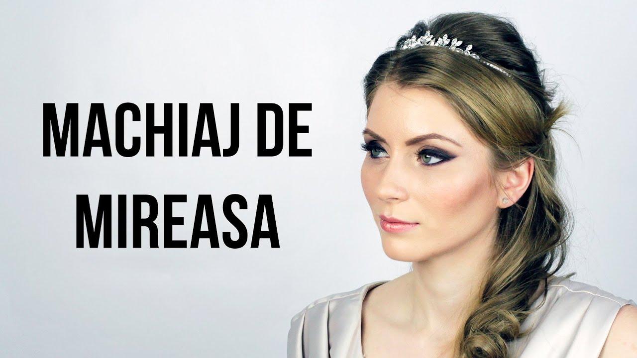 Machiaj De Mireasa In 2018 Youtube