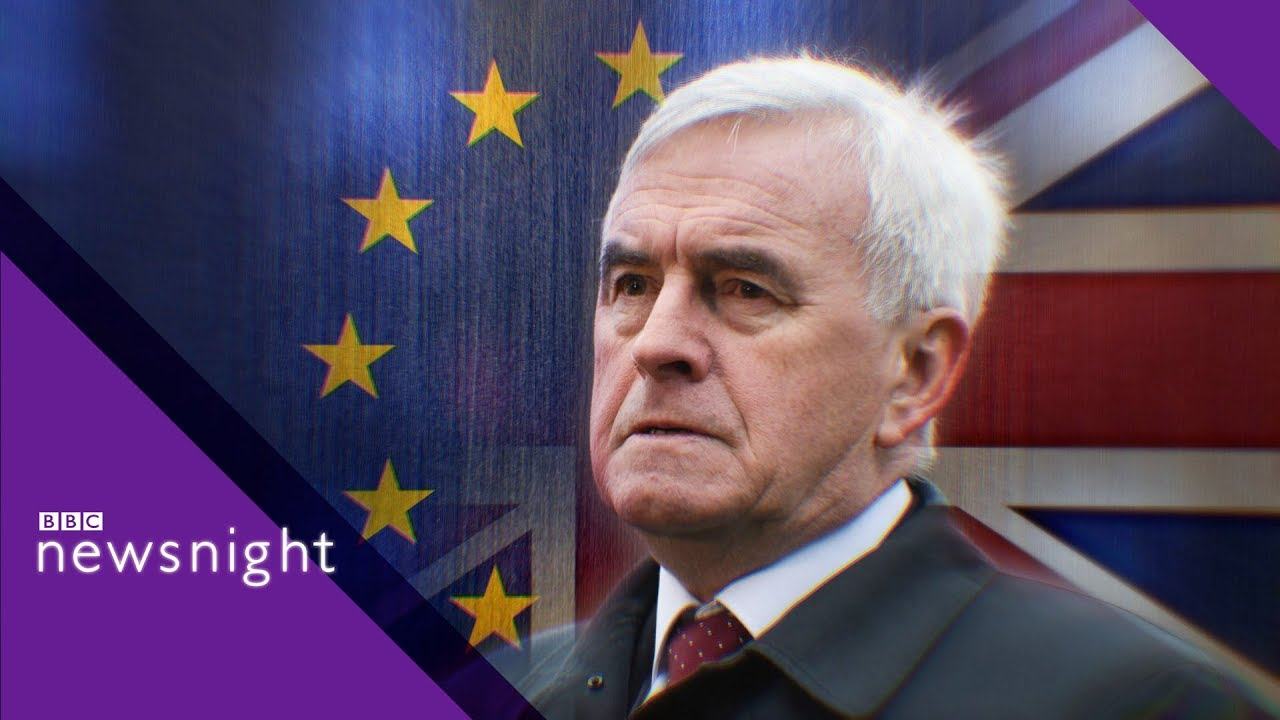 Labour shadow chancellor John McDonnell on Brexit - BBC Newsnight