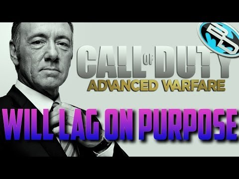 Will Advanced Warfare Multiplayer LAG ON PURPOSE? COD Advanced Warfare Lag Compensation Info