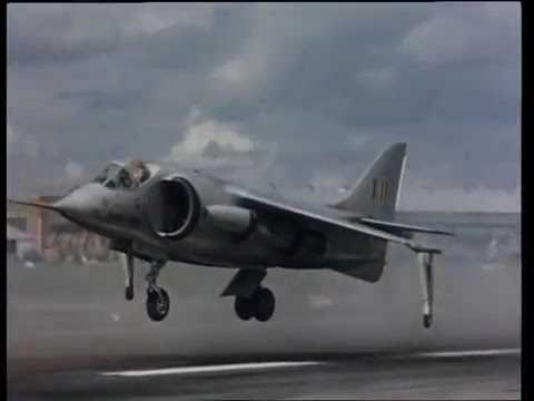 Harrier, attack aircraft capable of vertical/short takeoff  - Documentary