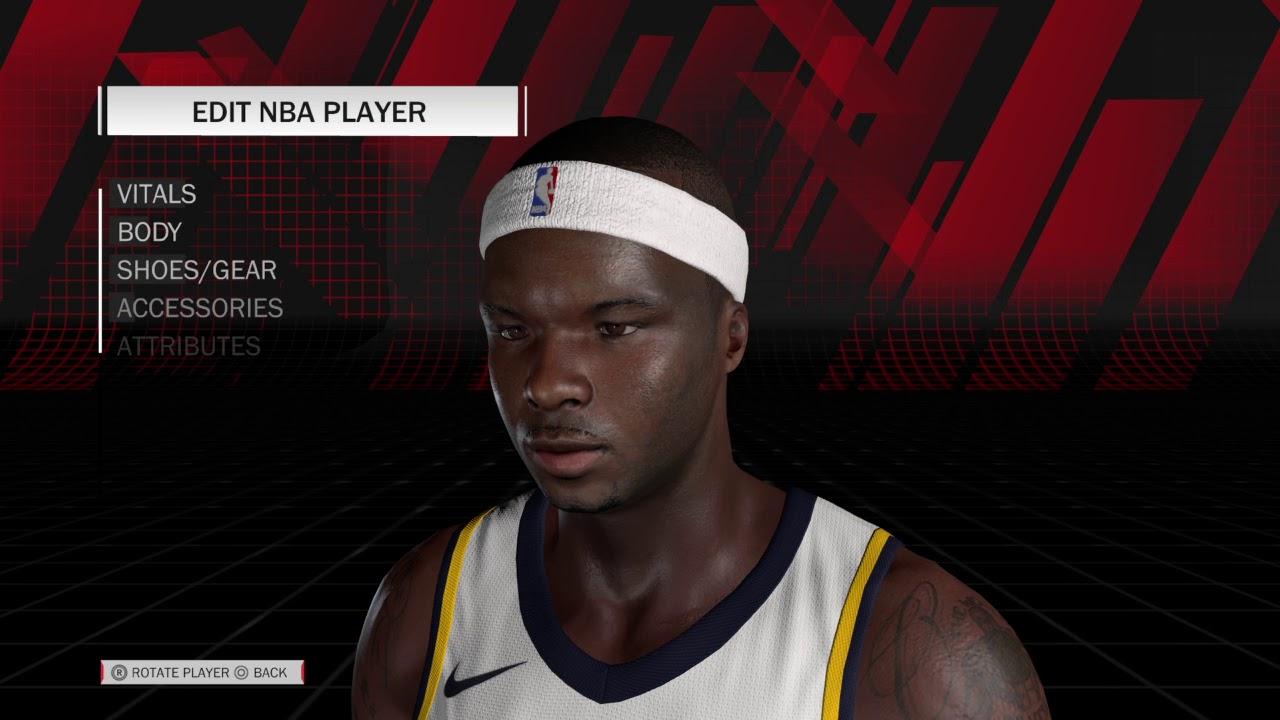 NBA 2K18 Jermaine O Neal ALL TIME