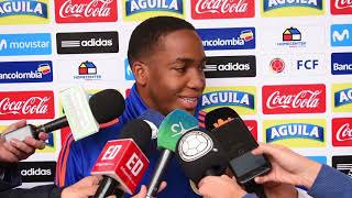 Hayen Palacios, mediocampista Selección Colombia Sub-20
