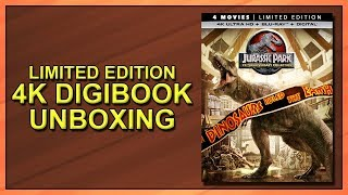 Jurassic Park Collection Limited Edition 25th Anniversary 4K Digibook Unboxing