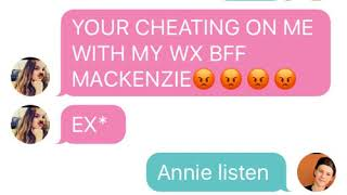 Annie cheats and Hayden does too💖💔
