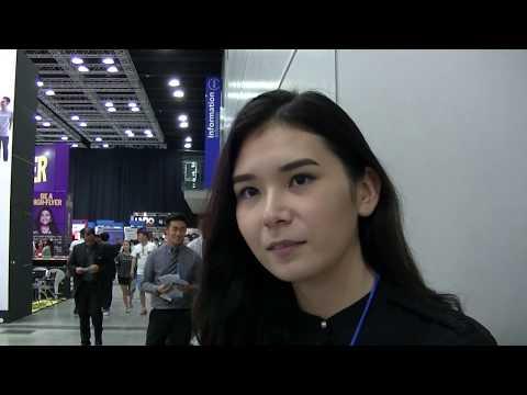 Aina Gul of Kazakhstan (APU University), Education Fair Febr