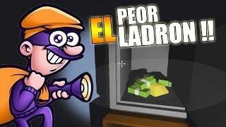 EL PEOR LADRÓN DEL MUNDO | Un ladrón muy organizado (The very organized thief)