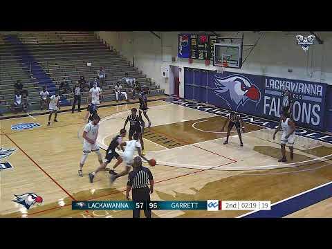 Lackawanna College Men's Basketball vs Garrett College