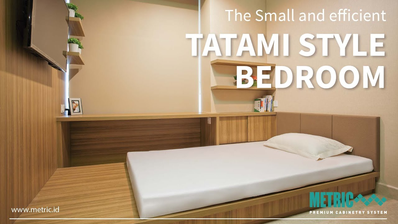 METRIC TATAMI Bedroom