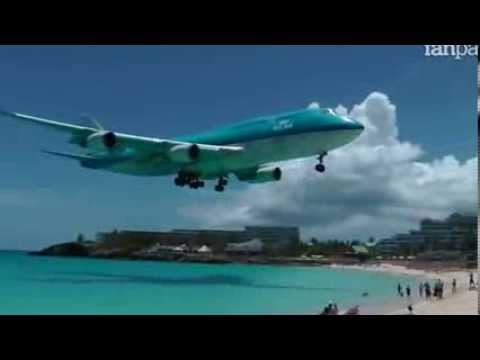 St martin caraibi youtube for Isola di saint honore caraibi